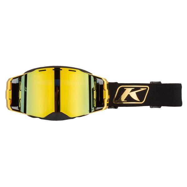 Мотоочки кроссовые KLIM Edge Focus Gold Gold Mirror