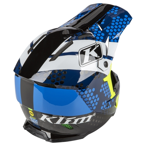 Мотошлем KLIM F5 Koroyd ECE/DOT Tactik Kinetik Blue