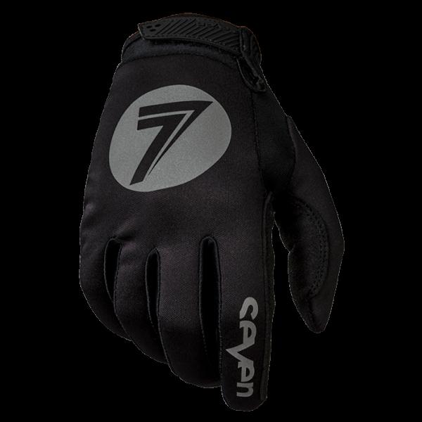 Мотоперчатки Seven ANNEX COLD WEATHER BLACK