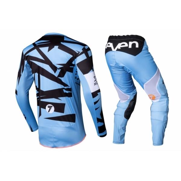 Комплект формы Seven RIVAL TROOPER BLUE