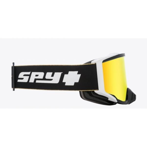 Мотоочки SPY+ Foundation Plus 25 Anniv Black Gold - HD Bronze with Gold Spectra Mirror - HD Clear