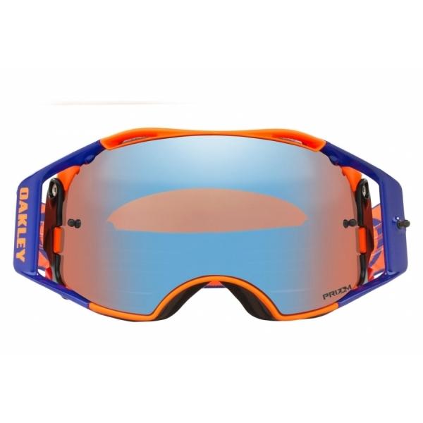 Oakley Airbrake MX / Flo Orange Blue / Prizm