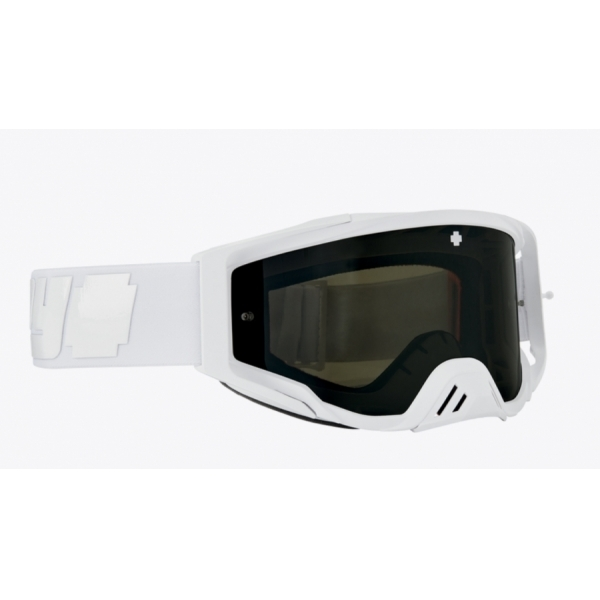 Мотоочки SPY+ Foundation Plus Reverb Alabaster - HD Smoke with Black Spectra Mirror - HD Clear