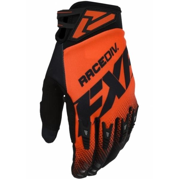 Мотоперчатки FXR Adjustable MX 20-Nuke Red/Black