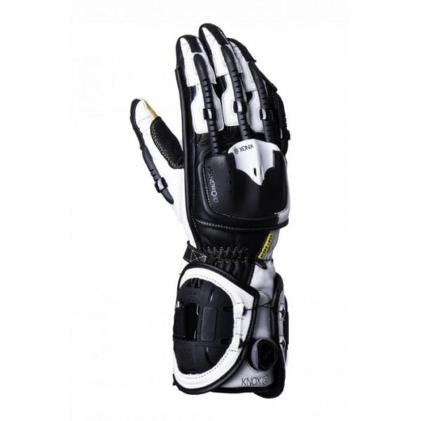 Мотоперчатки Knox Handroid Black/White (Mk4)