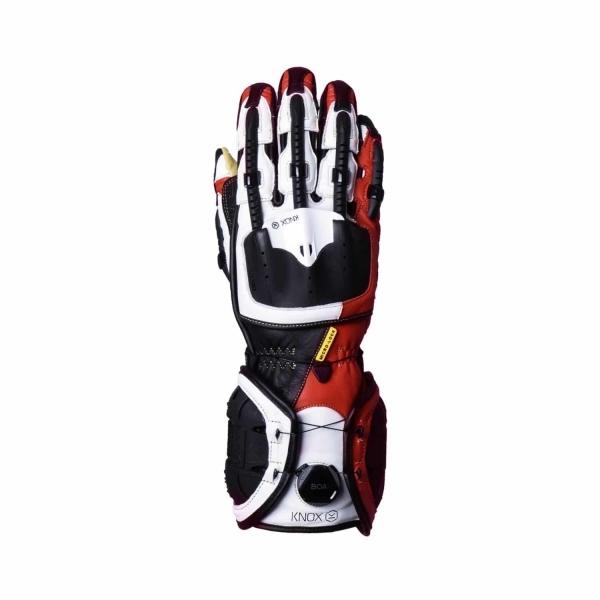 Мотоперчатки Knox Handroid Red
