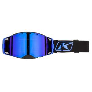 Мотоочки кроссовые KLIM Edge Focus Blue Chrome Dark Smoke Blue Mirror