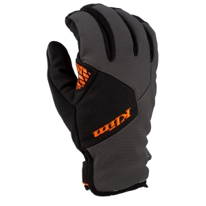 Мотоперчатки KLIM Inversion Insulated Asphalt -Strike Orange