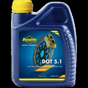Жидкость тормозная Putoline DOT 5.1 500 ml
