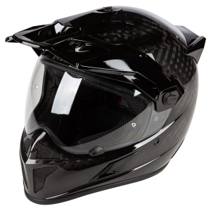 Мотошлем KLIM Krios ECE/DOT Gloss Karbon Black