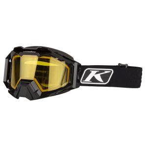 Мотоочки кроссовые KLIM Viper Pro Snow Elite Black Yellow Tint