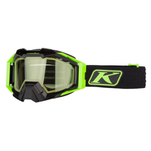Мотоочки кроссовые KLIM Viper Pro Snow Elite Electrik Gecko Lt Green Tint