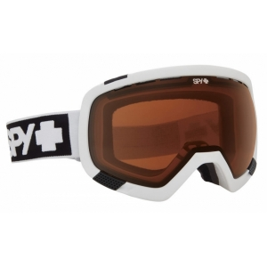 Лыжные очки SPY+ PLATOON WHITE - BRONZE