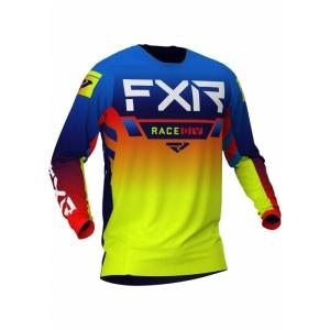 Мотоджерси FXR Helium MX 21-Blue/Hi Vis/Red