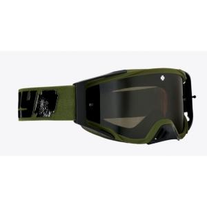 Мотоочки SPY+Foundation Plus Reverb Olive - HD Smoke with Black Spectra Mirror - HD Clear