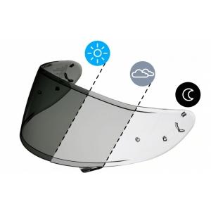 Стекло мотошлема Shoei CWR-1 photochromic