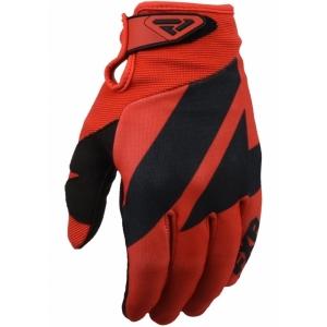 Мотоперчатки FXR Clutch Strap MX 20-Red/Black