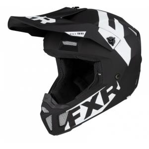 Мотошлем FXR Clutch CX 20-Black/White