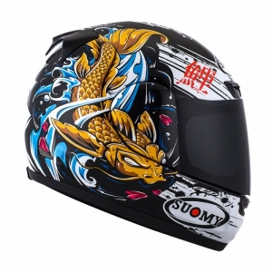 Helmet Suomy APEX JAP BLACK/GOLD