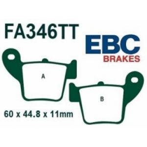 Brake shoes back Honda Ebc FA346TT