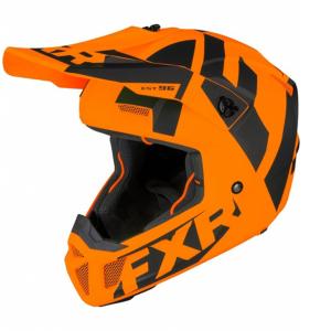 Мотошлем FXR Clutch CX 20-Orange/Black